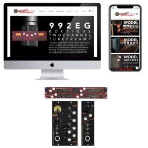 LaChapell Audio - Firebrand Creative Client website product design mobile